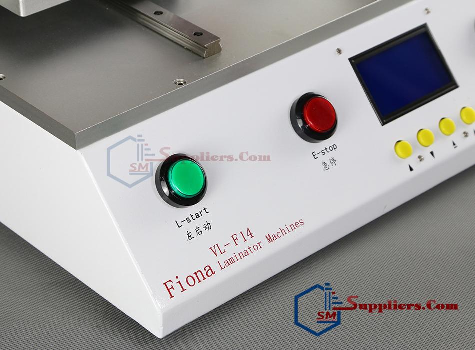 Mẫu máy ép kính màn hình điện thoại Fiona VL-F14 hiện đại nhất hiện nay