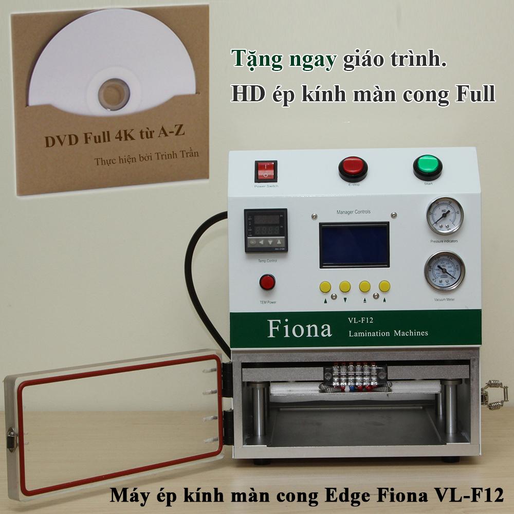 Giáo trình ép kính màn cong Edge, iPad - Fiona VL-F12